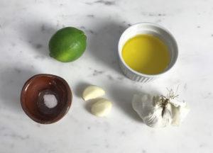 KitchAnnette Tostones Maduros Dip Ingredients