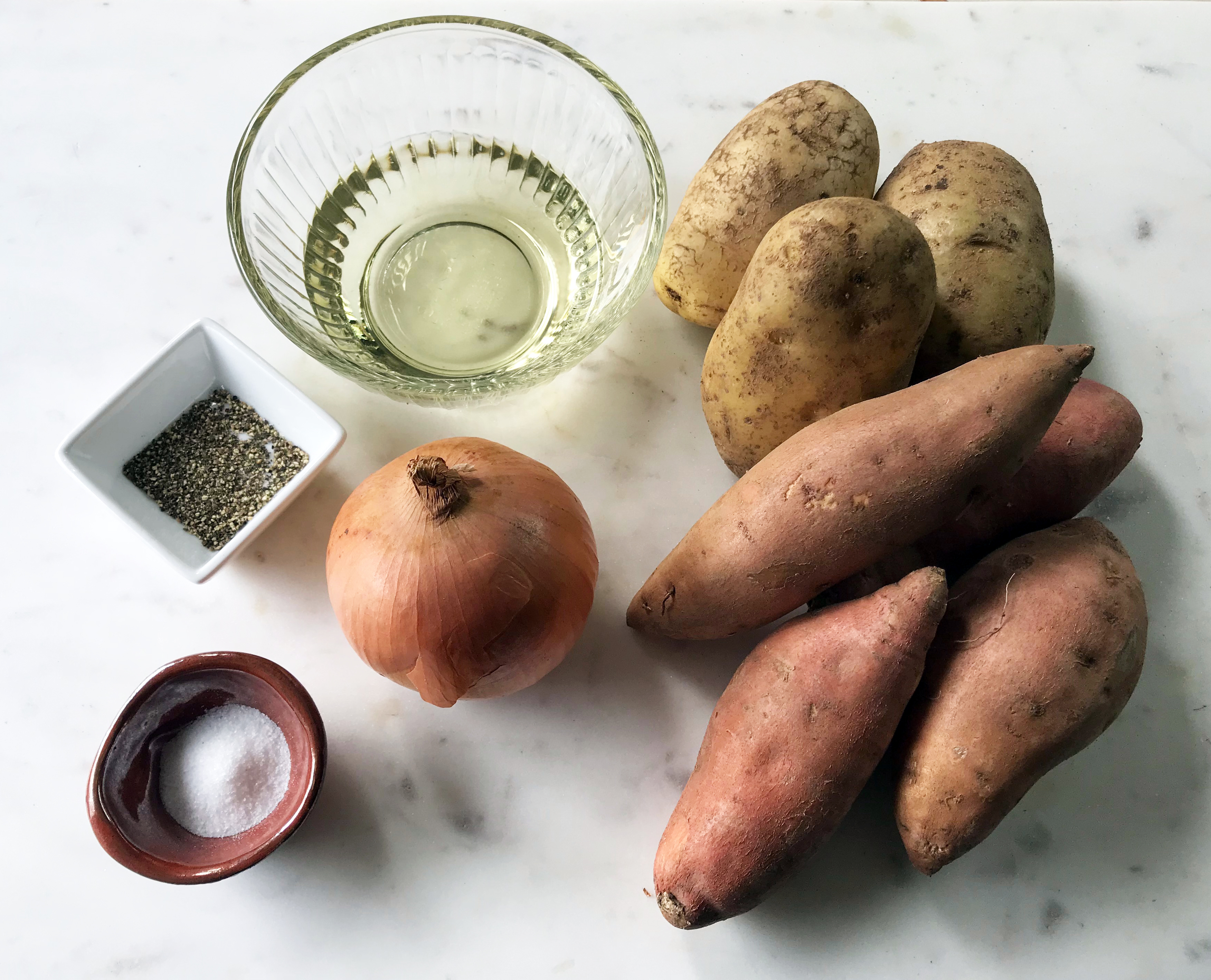 KitchAnnette Roasted Potatoes Ingredients