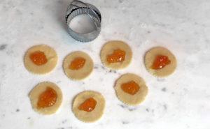 KitchAnnette Fruit Tarts Apricot