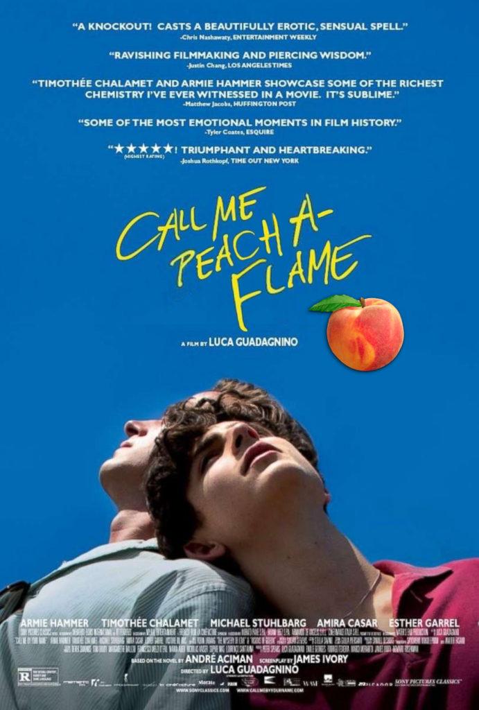 KitchAnnette 2018 Oscars Call Me Peach A-Flame