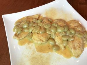 KitchAnnette Champagne Chicken Platter