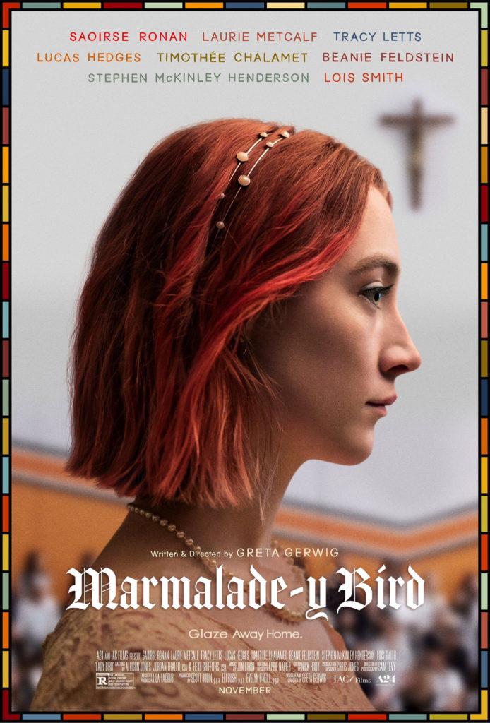 KitchAnnette 2018 Oscars Marmalade-y Bird