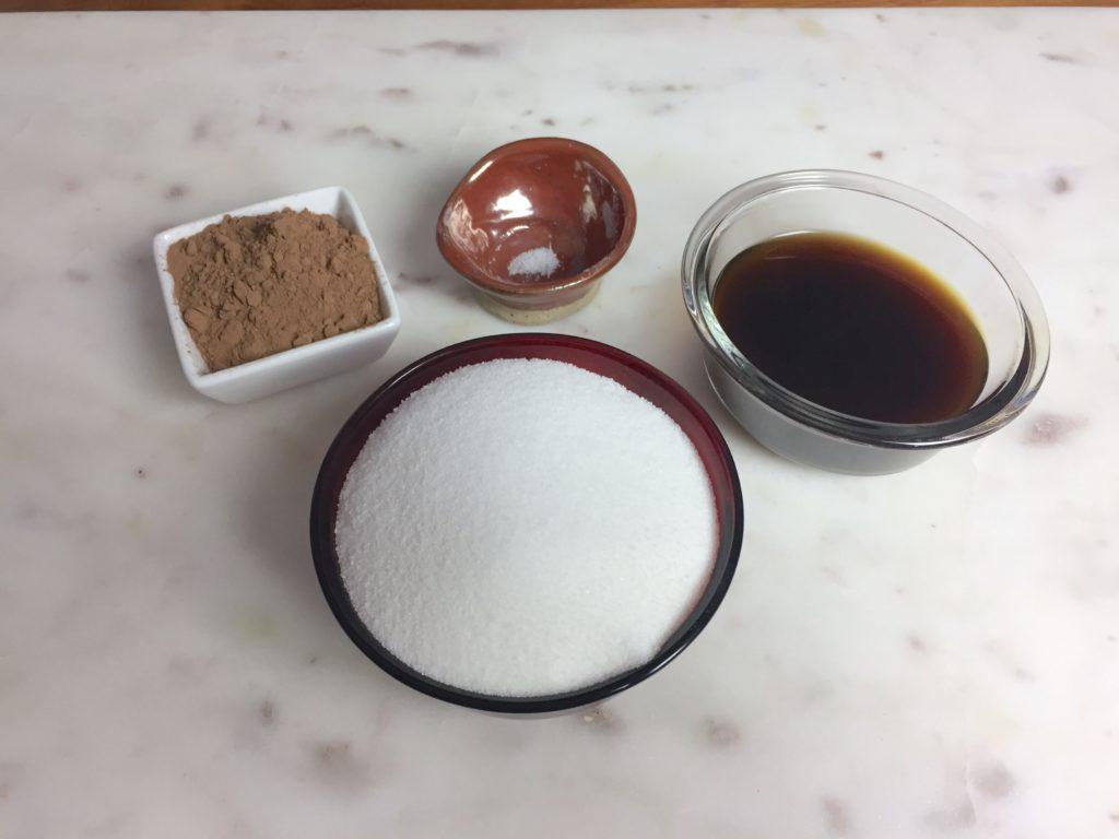 KitchAnnette Dunk Cake Sauce Ingredients