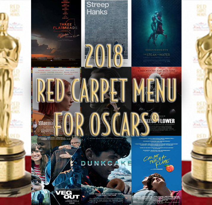 KitchAnnette Red Carpet Menu 2018 FEATURE
