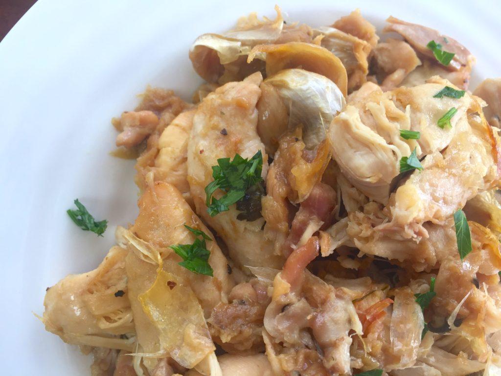 KitchAnnette 40 Garlic Chick Close
