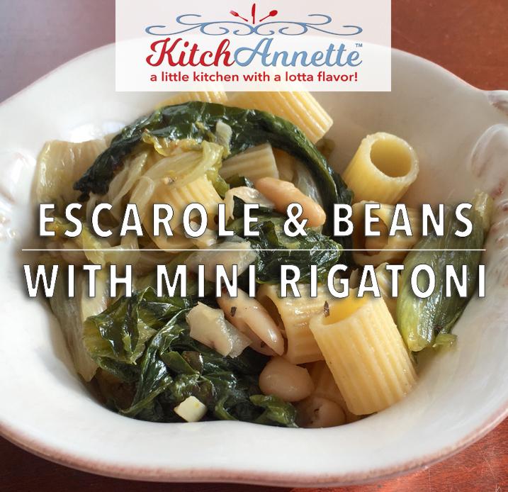 KitchAnnette Escarole Beans FEATURE
