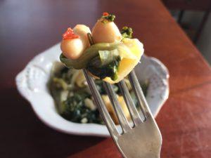 KitchAnnette Escarole Beans Fork